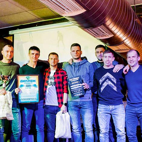 Команда Zotti выиграла Кубок Харькова по мини-футболу