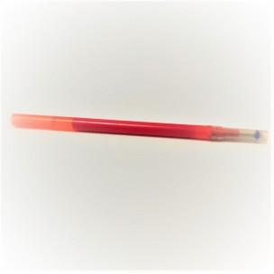 Стержень (ампула) по коже, пластик красный