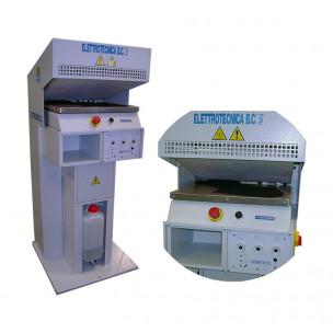 Машина для увлажнения с самоадаптирующейся пластиной mod. 383 Elettrotecnicabc