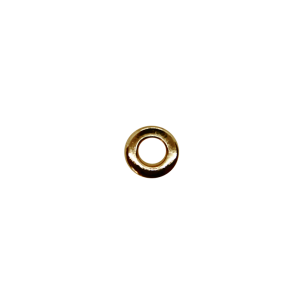 Блочка 14 Д 5,6мм*10мм золото плоская
