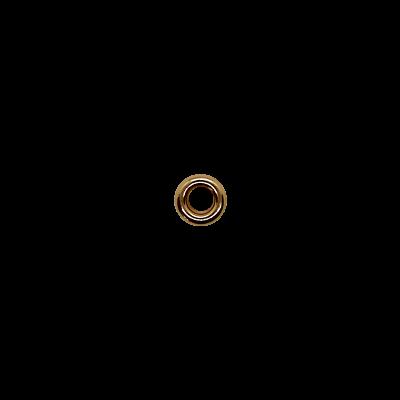 Блочка 52 стекло 8мм/4мм золото