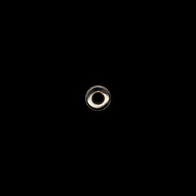 Блочка 6 Д (4мм*8мм) тёмный никель