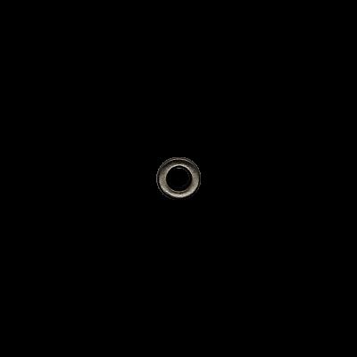 Блочка 6 Д (4мм*8мм) тёмный никель матовая