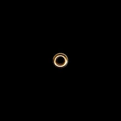 Блочка 6 Д (4мм*8мм) золото матовая