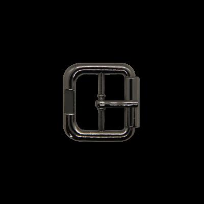 Пряжка тёмный никель 20486