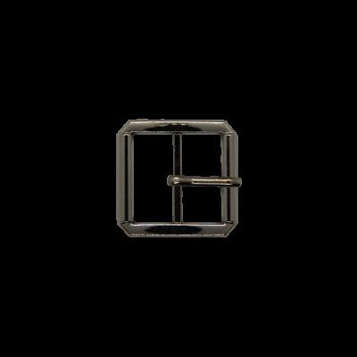 Пряжка тёмный никель 24184