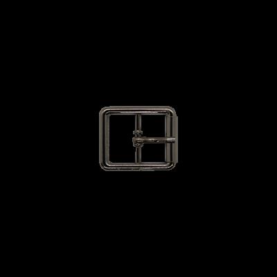 Пряжка тёмный никель 37213