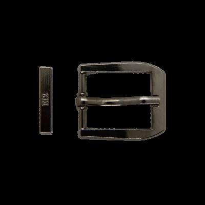Пряжка + тренч тёмный никель 2350