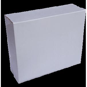 Коробка серебристая лаковая
