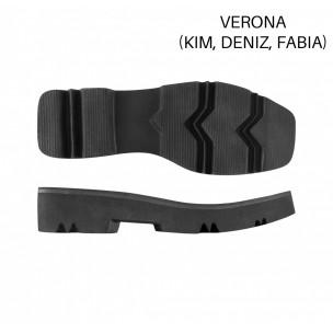 Подошва 2026 Verona черн./F0/пятка-нос квадрат