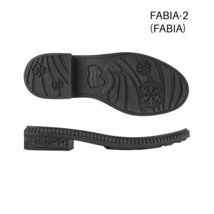 Подошва Fabiani-2 черный/кабл. Лак