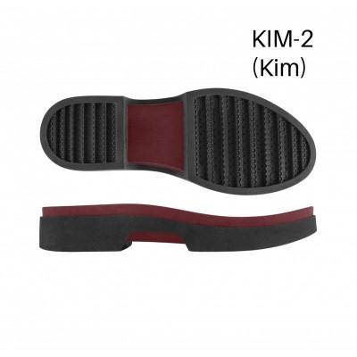 Подошва Kim-2 Н черный/В бордо 2L