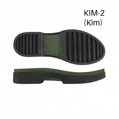 Подошва Kim-2 Н черный/В зеленый 3L