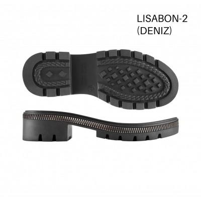 Подошва Lisabon-2 черный/Р.30 темный