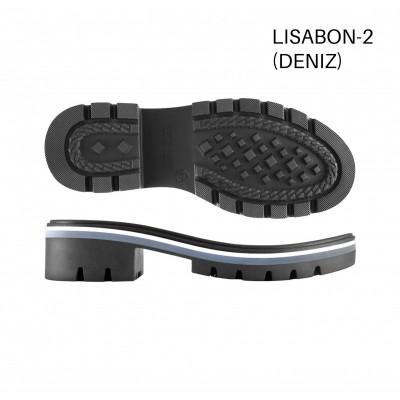 Подошва Lisabon-2 черный/Р.32/F0/рант черн.