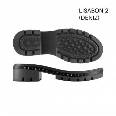 Подошва Lisabon-2 черный/рант KV VLNT