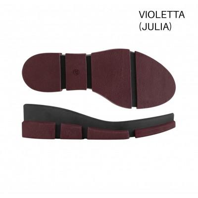 Подошва Violetta бордо 2L/черный L