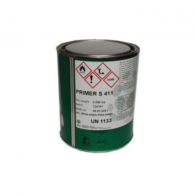 Подготовительный клей для микропористых подошв Primer-S411 1л