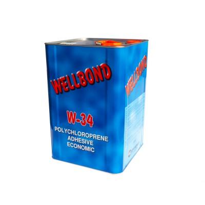 Полихлоропреновый клей Wellbond  W34