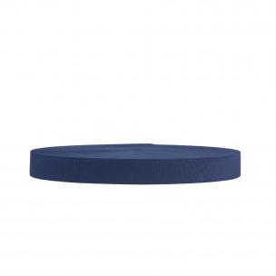 Резинка обувная 25 мм синяя
