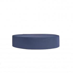 Резинка обувная 50 мм синяя
