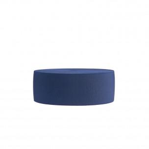 Резинка обувная 80 мм синяя