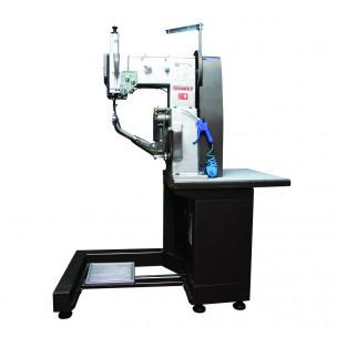 Машина автомат двухниточного челночного стежка для пошива краев подошвы обуви mod. FA-2000А Famas