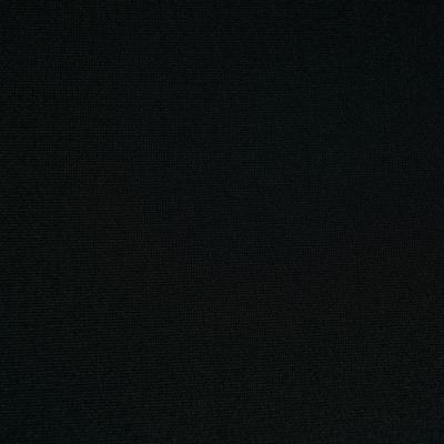 Ткань стрейч Scuba 260 gsm чёрная КО