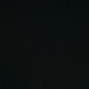 Ткань стрейч Scuba 390 gsm чёрная КО